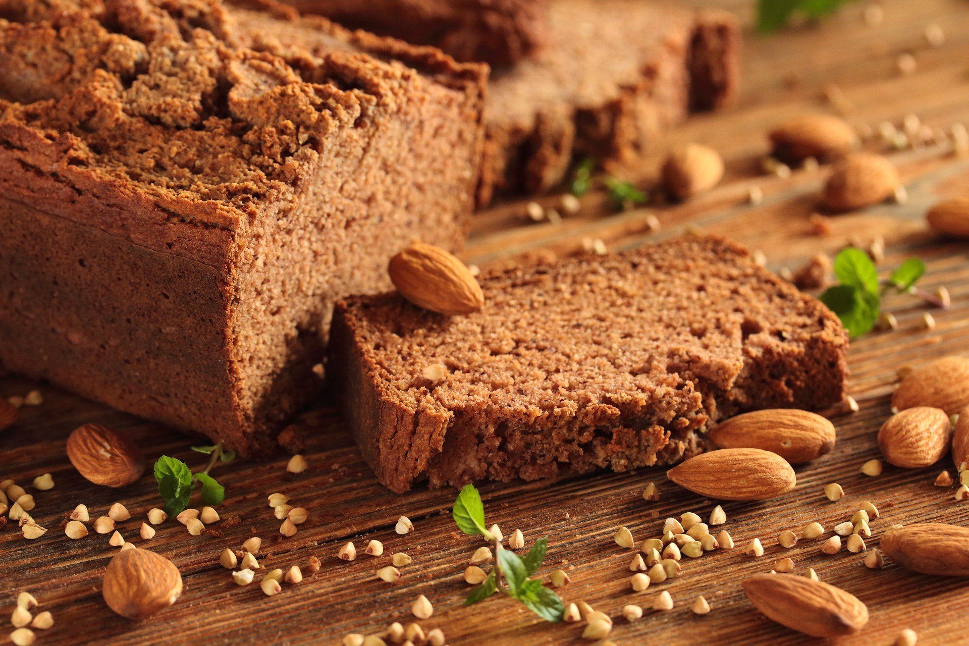 Gluten Free Baking_Almonds_Bread Loaf