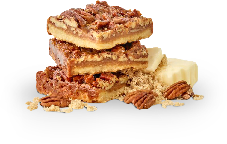 Pecan Dandy with Ingredients